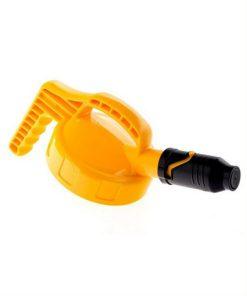 Plaatje OilSafe deksel korte tuit wijd geel