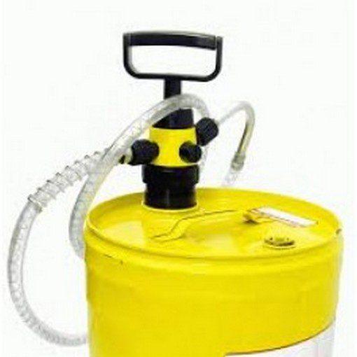 geel olievat met verloopstuk en premium pomp OilSafe