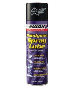 spuitbus handyman spray lube speciale waterresistente olie