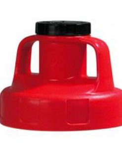 OilSafe Universeel Deksel rood de adapter tussen Oilsafe kannen en pompen