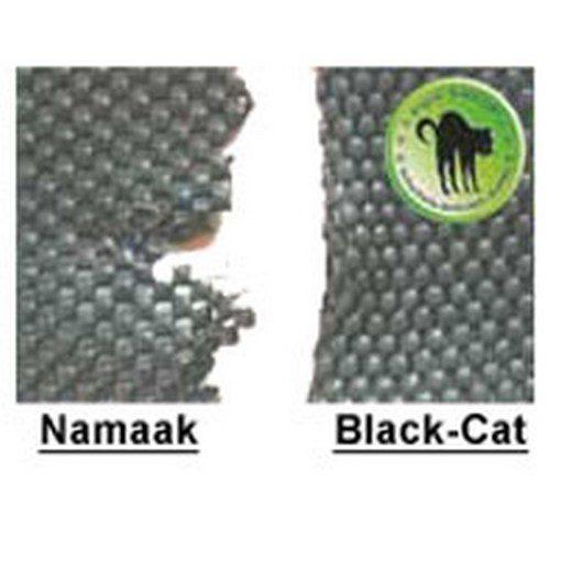 plaatje met gescheurde antislipmat en oersterke black cat antislipmat