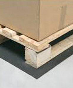 antislipmat onder pallet met doos