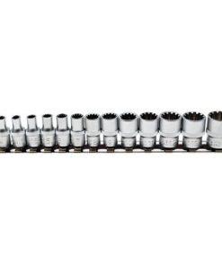 doppenrail met set 1/4 doppen gearlock