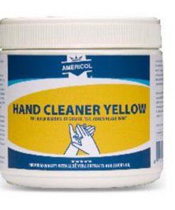 pot met garagezeep handcleaner yellow