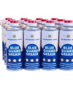 12 spuitbussen blue guard grease ais