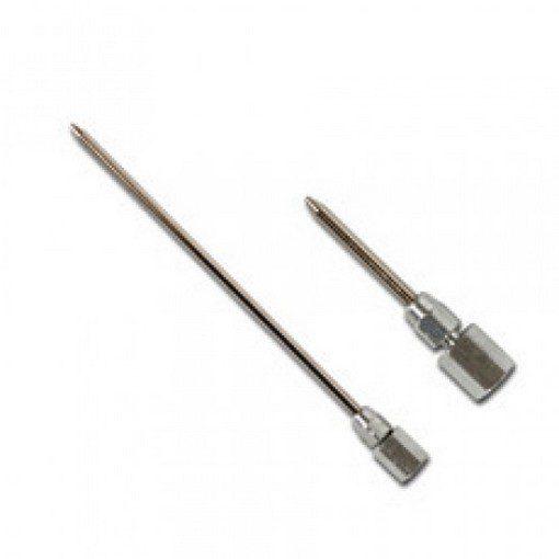 naaldmondstukken in twee maten 38 en 150 mm