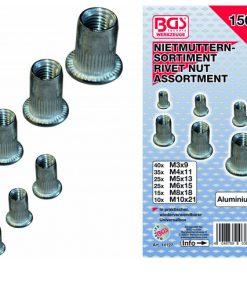 blindmoeren assortimentsdoos aluminium