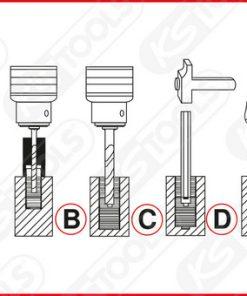 ks tools uitdraaiset schematische werkwijze