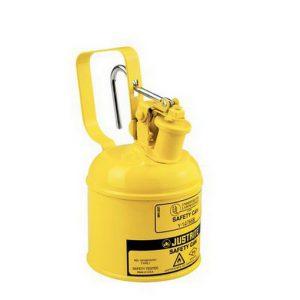 geel metalen veiligheidskan