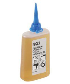 pneumatische speciale olie in flacon van 100 milliliter met dop
