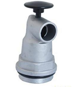 zelfsluitende aluminium vatkraan met drukknop