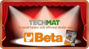 Aankondisgings plaatje nieuw dealerschap Beta