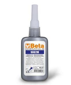 flacon met 50 ml schroefdraad borgmiddel gemiddelde sterkte