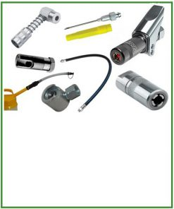 Accessoires voor vet- en oliespuiten